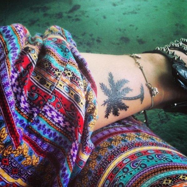 Graceful Tree Tattoo On Wrist