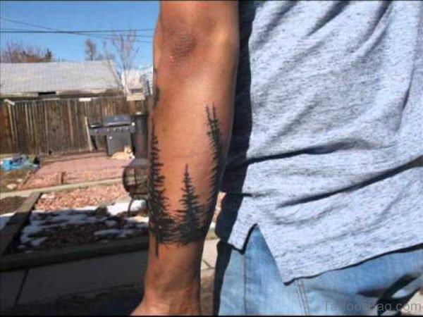 Graceful Tree Tattoo