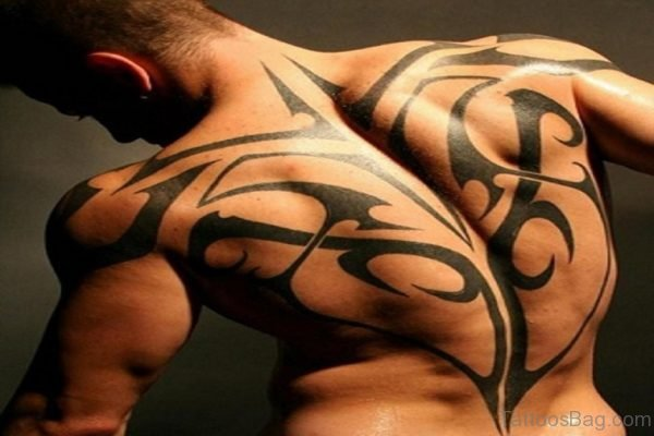 Graceful Tribal Tattoo Design
