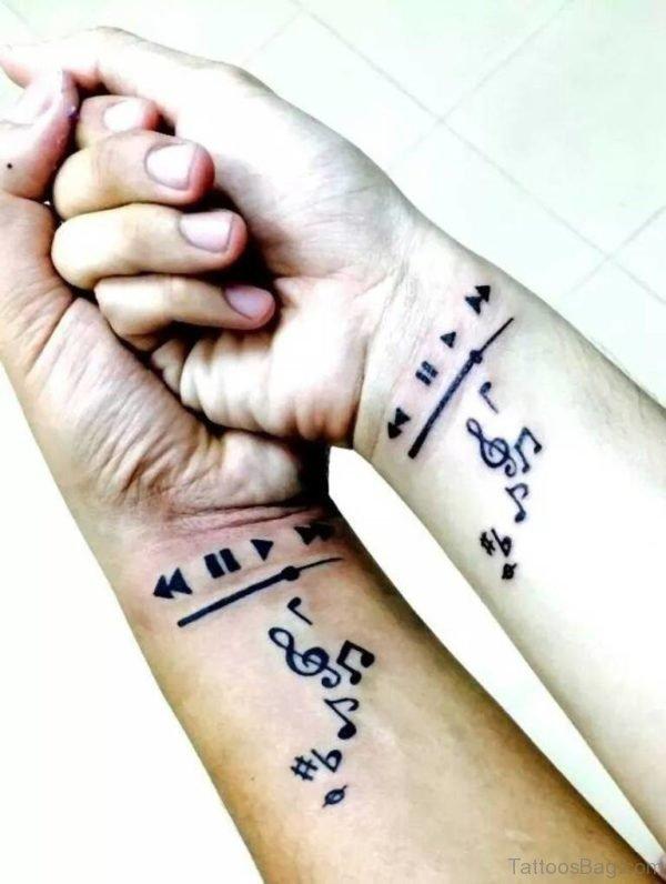 Graceful Wrist Tattoo