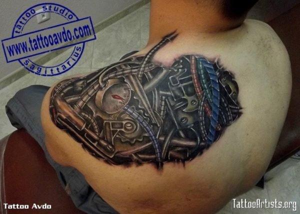 Great Biomechanical Tattoo
