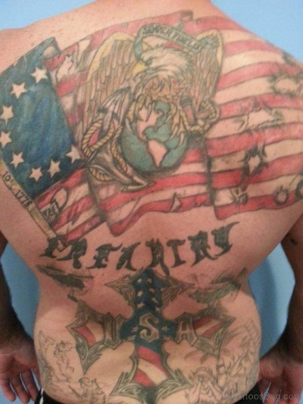 Great Patriotic Tattoo
