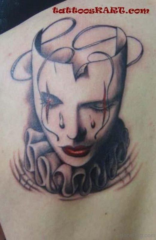 Great Mask Tattoo