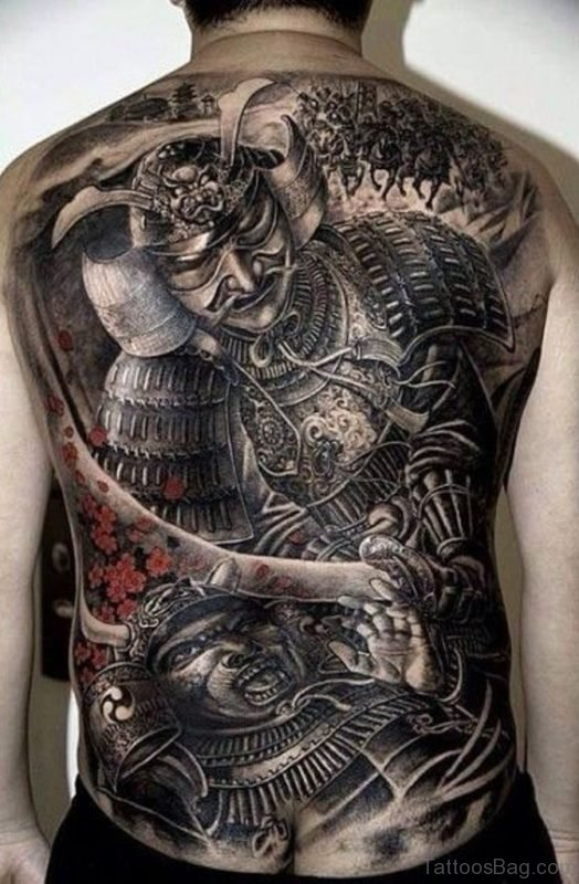 Great  Samurai Tattoo