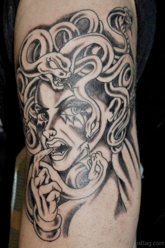 Greek Mythology Medusa Tattoo Design