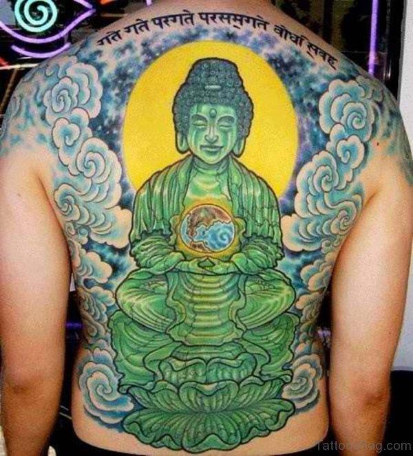 Green Buddha Tattoo