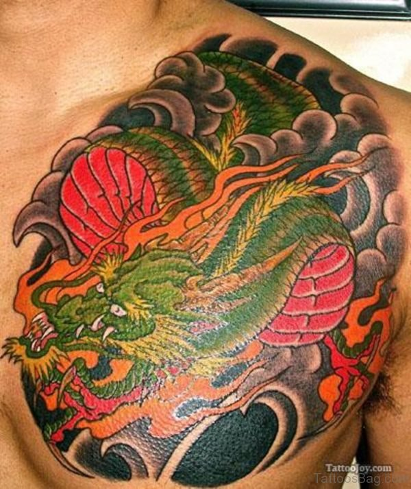 Green Dragon Tattoo
