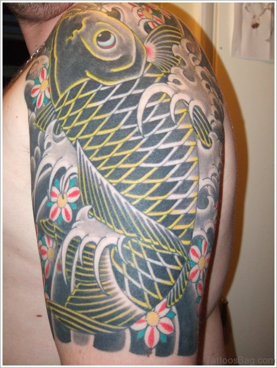 Green Fish Tattoo