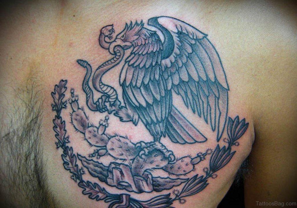 40 wonderful eagle tattoos design for chest. Black Bedroom Furniture Sets. Home Design Ideas
