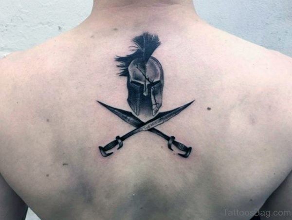 Grey Sword Tattoo