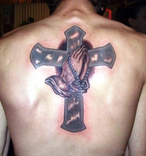 Hand Cross Tattoo