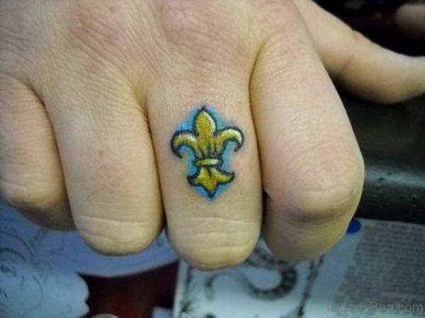 Healing  Finger Tattoo