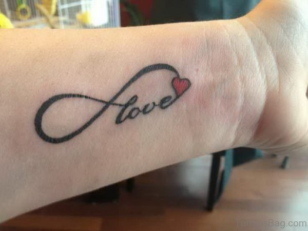 Heart And Love Tattoo
