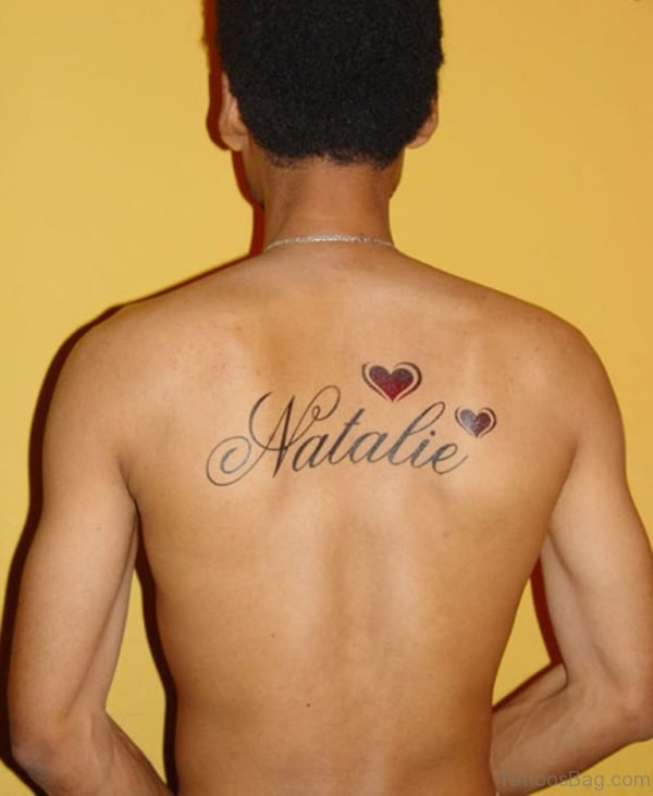 Heart And Name Tattoo