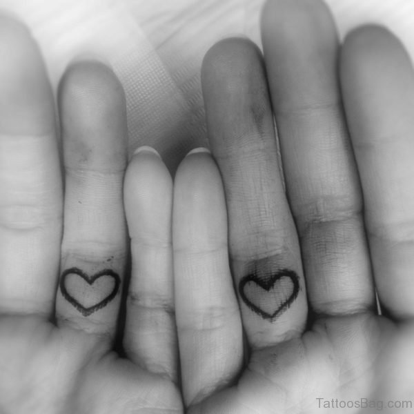 Heart Ring Tattoo
