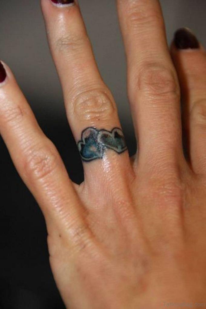 66 classy finger tattoos for women for Ring finger tattoos