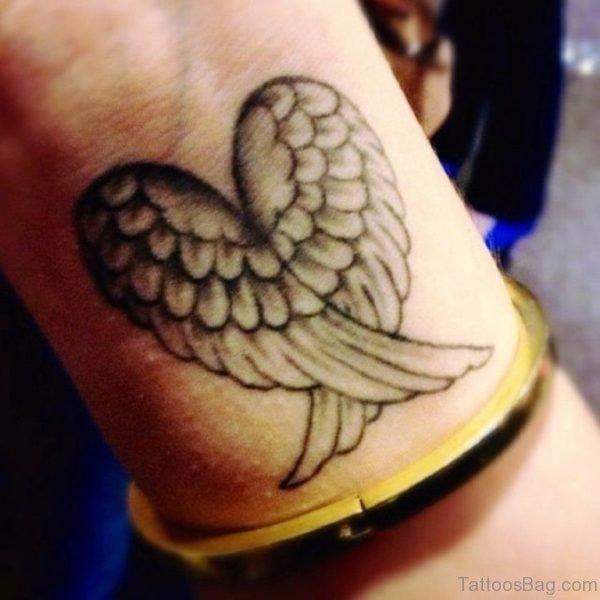 Heart Wings Tattoo