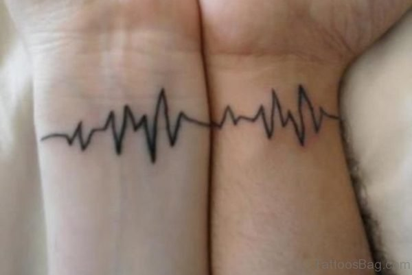 Heartbeat Tattoo Design