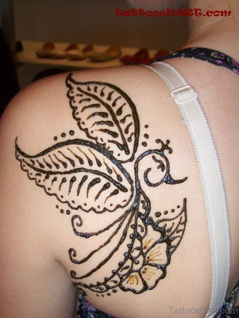 Henna Bird Tattoo