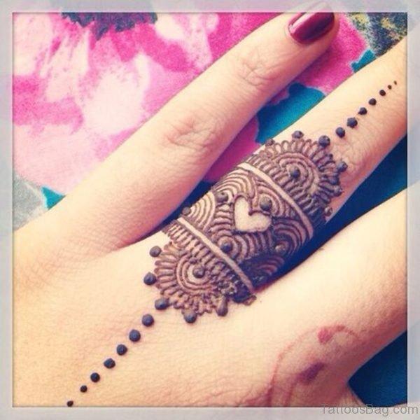 Henna Ring Tattoo