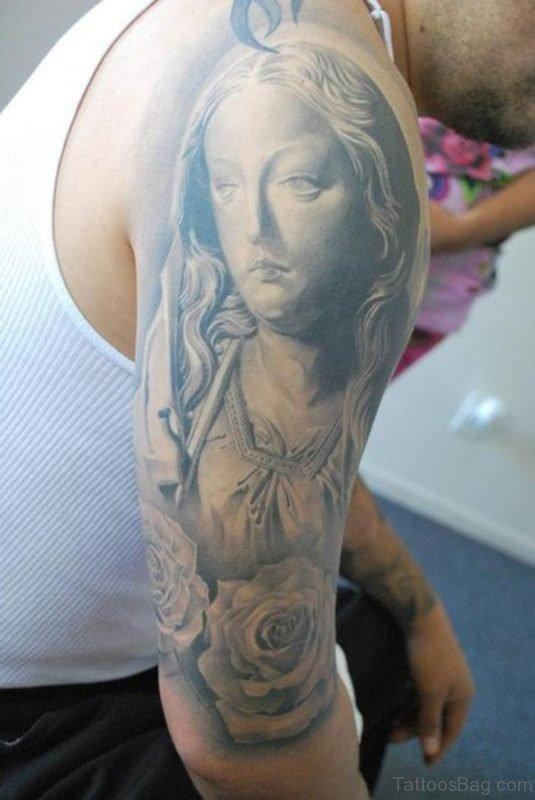 Holy Mary Tattoo