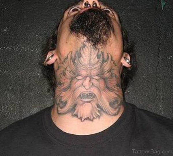 Horror Men Tattoo