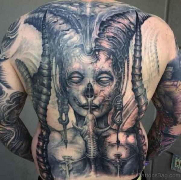 Horror Tattoo
