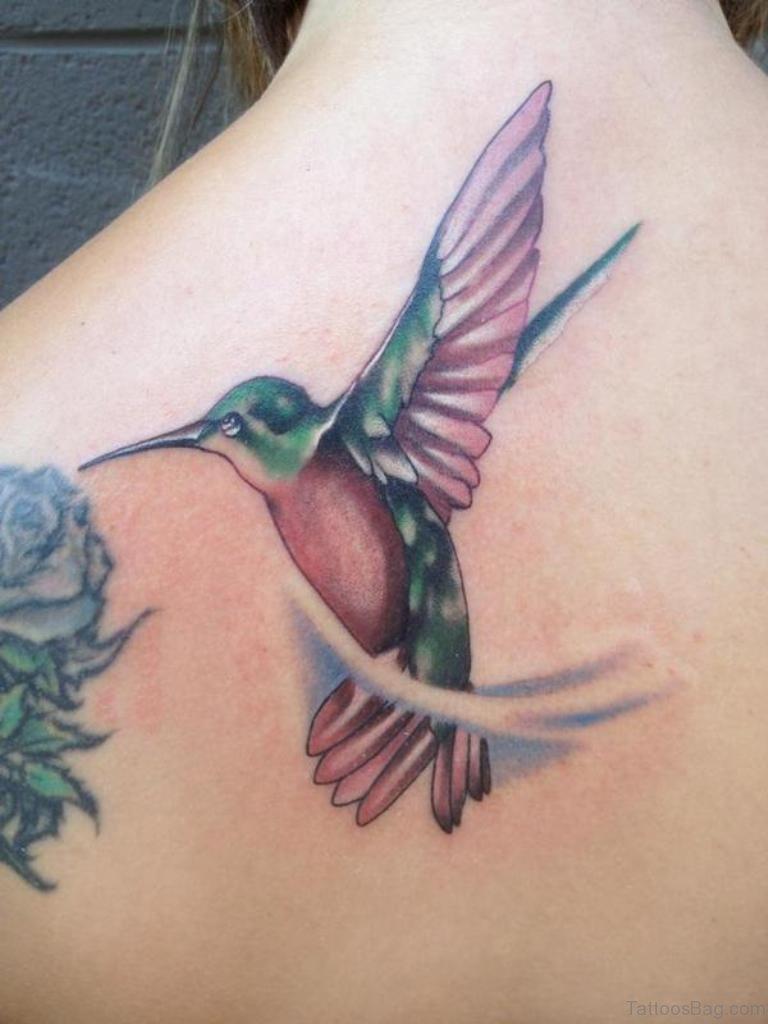 62 unique hummingbird tattoo for back. Black Bedroom Furniture Sets. Home Design Ideas