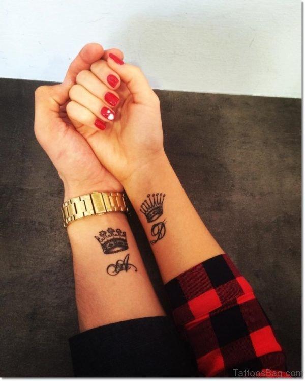 Impressive Crown Tattoo