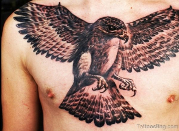 Impressive Eagle Tattoo Design