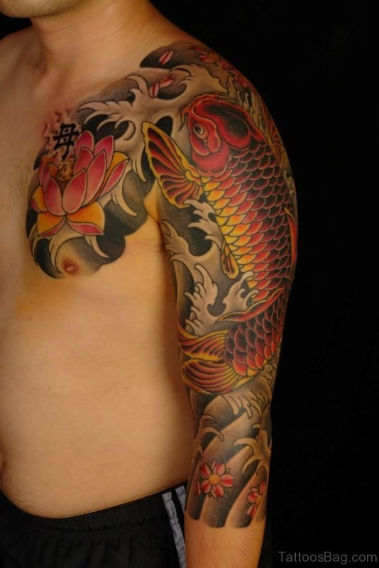 Impressive Fish Tattoo