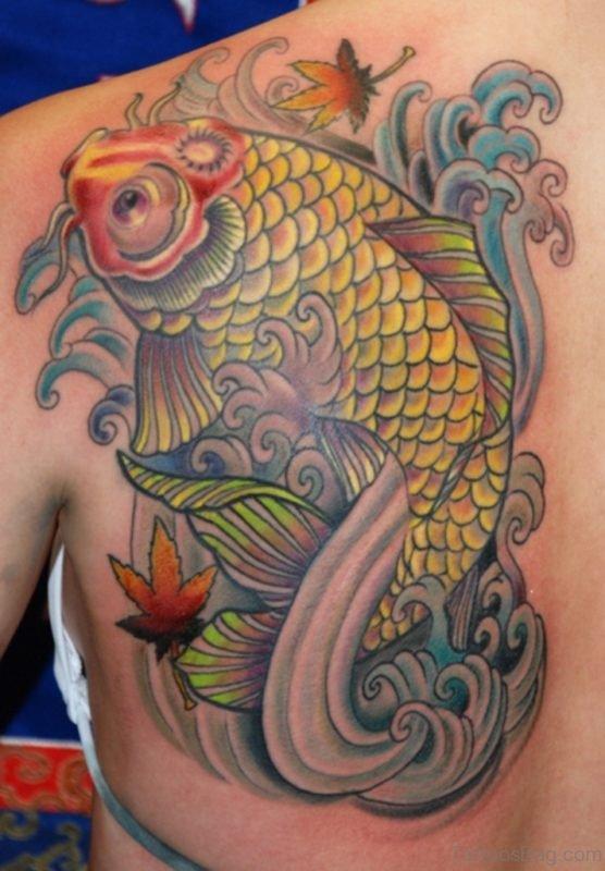 Impressive Fish Tattoo
