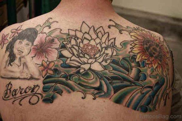 Impressive Flower Tattoo