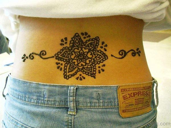 Impressive Henna Tattoo