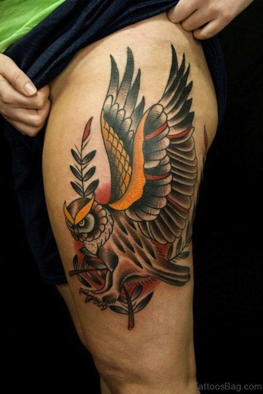 Impressive Owl Tattoo