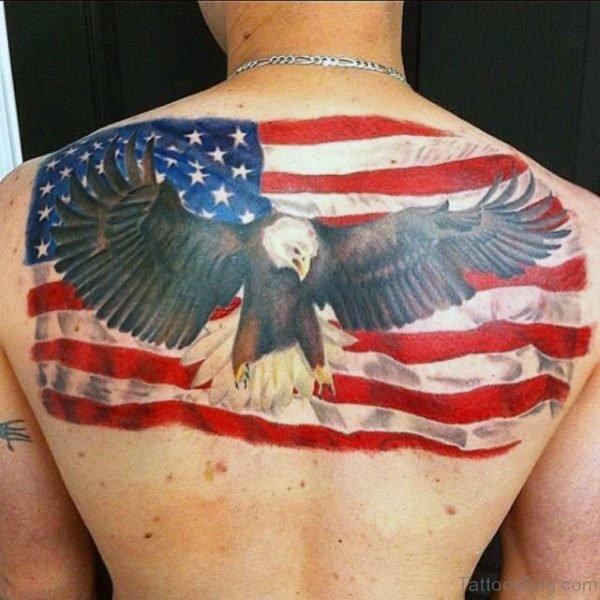 Impressive Patriotic Tattoo