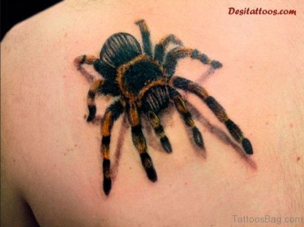 Impressive Spider Tattoo