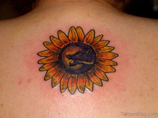 Impressive Sunflower Tattoo