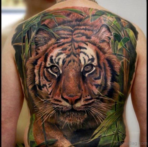Impressive Tiger Tattoo