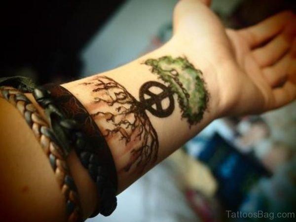 Impressive Tree Tattoo