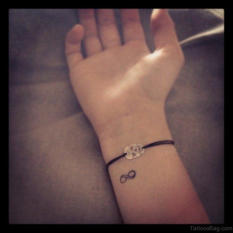 4832ce7b227c2 56 Stunning Infinity Tattoos For Wrist