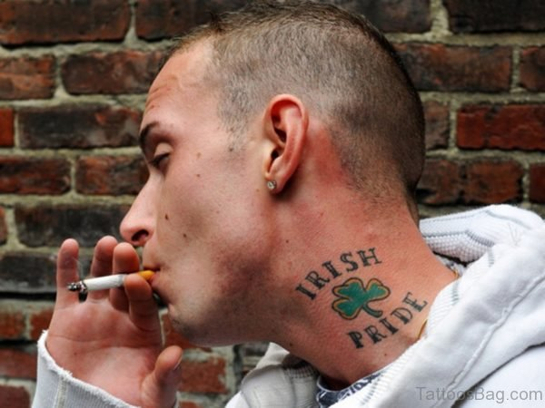 Irish Pride Tattoo For Men