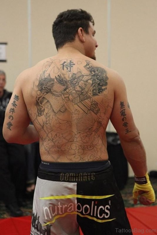 Japanese Back Tattoo Image