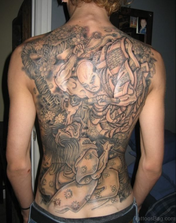 Japanese Devil Tattoo