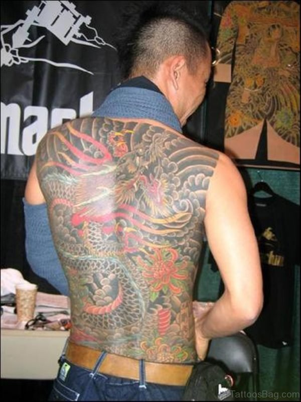 Japanese Dragon Tattoo Photo
