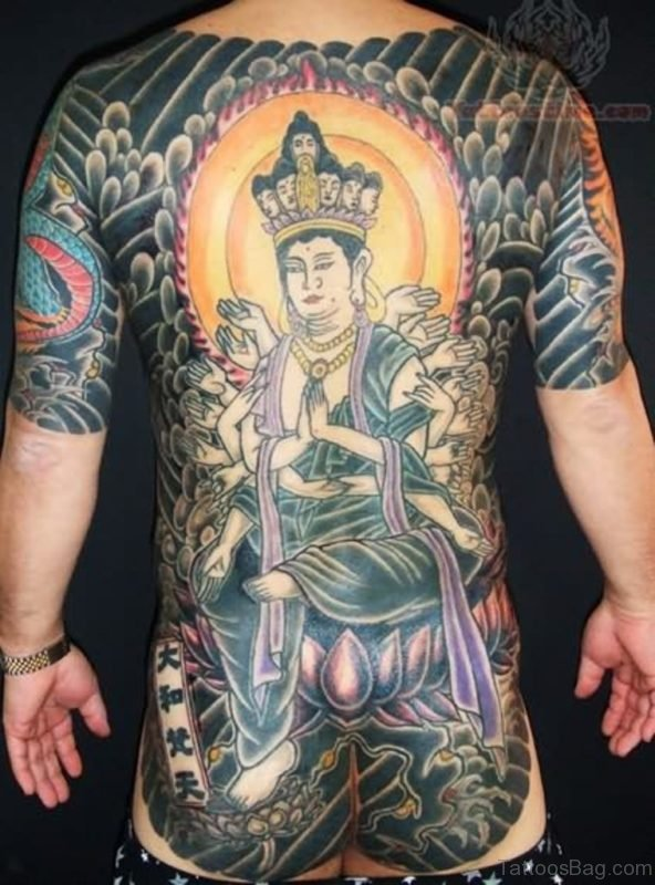 Japanese Queen Tattoo