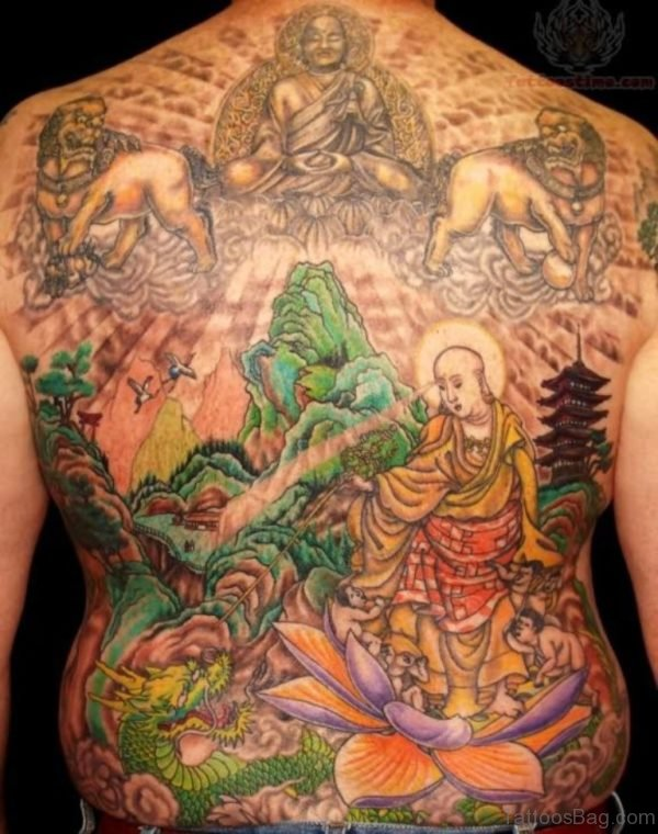Japanese Religious Tattoo