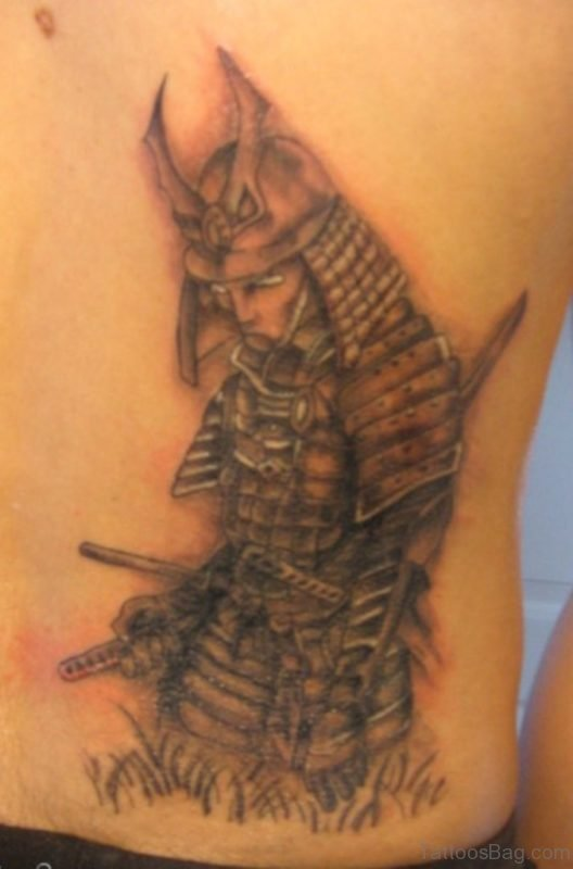 Awesome  Japanese Samurai Tattoo