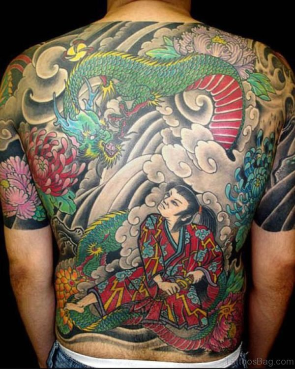 Japanese Tattoos Samurai Tattoo