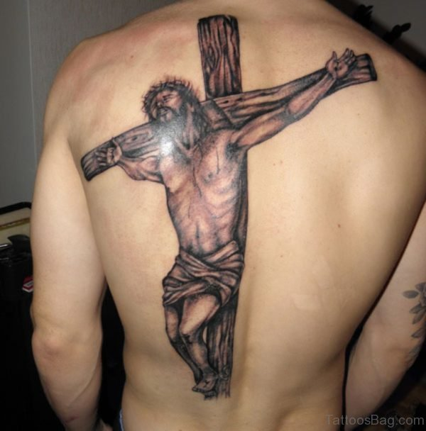 Jesus And Cross Tattoo
